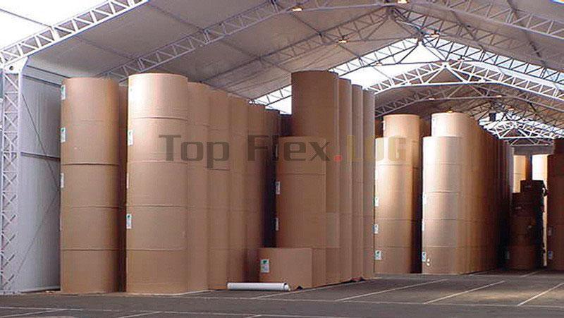Galpões de lona para armazenagem